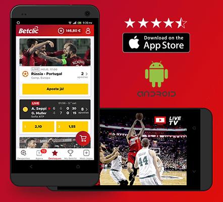 Melhor app de apostas desportivas